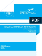 Arquitectura Web Diseño Visual