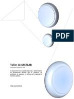 Taller Matlab