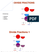 Dividing Fractions Using Visual Fraction Models