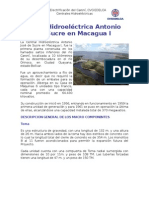 Represa del Guri Macagua I,II y III