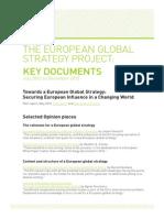 European Global Stretegy