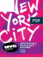 NYC Official Visitor Guide - FALL - 2013
