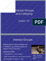 Interest Groups and Lobbying (2)