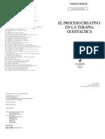 El Proceso Creativo en La Terapia Guestaltica Psiquiatria Psicopatologia y Psicosomatica