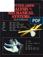 Computer-Aided Analysis of Mechanical Systems