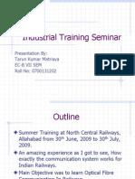 industrialtrainingppt-111129134047-phpapp02