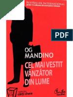 OD MANDINO-Cel Mai Vestit Vanzator Din Lume