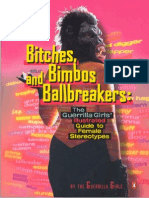 116505967 Guerrilla Girls Bitches Bimbos and Ballbreakers the Guerrilla Girls Illustrated Guide to Female Stereotypes