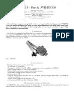 Uso de AVR-ISP500
