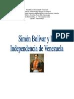 Trabajo Catedra Bolivariana