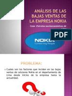 Analisis de Las Bajas Ventas de La Empresa Expo