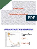 Gases Reales-Fuerzas Intermoleculares