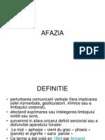 AFAZIA