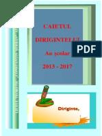 Caietul Dirigintelui 2013 2017