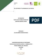 Analisis Sobre Las Partes y Pluraridad de Las Partes