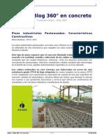 Pisos Industriales Postensados Caracterisiticas Constructivas