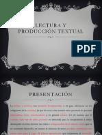Lectura y Producción Textual