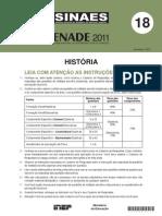 Enade História 2011