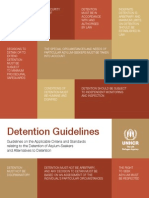 UNHCR guidelines on refugee detention
