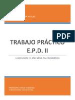 La inclusión en Argentina y America Latina
