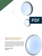 Hipertexto Sobre El Origen Del Lenguaje