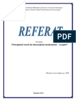 Interactiuni Ligand Receptor