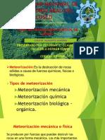 Meteorizacion y Control de Menas (Yacimientos Auriferos)