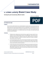 Loreal Luxury Case Study