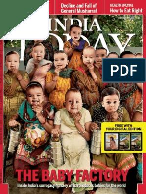 India Today - 02 September 2013 | Surrogacy | Indian National Congress
