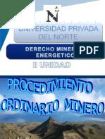 i Unidad Derecho Minero (III Semana)