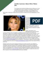Hacker De Jennifer Lawrence Ahora Filtra Videos Porno De Las Estrellas
