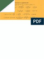 Worksheet on U-Sub