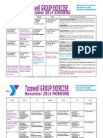 Tazewell November 2014 Group Exercise