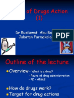 BAP 12.Phar Mode of Drugs Action