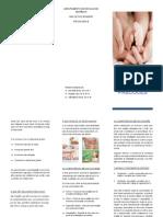 Brochura Relações Precoces