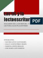 DIAPOSITIVAS Las Tic y La Lectoescritura