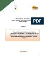 Perfil de Proyecto - Desperfil de proyecto Para La Conservación, Manejo y Recuperación de Los Bosques de Neblina en La Cuenca Alta de Los Rio