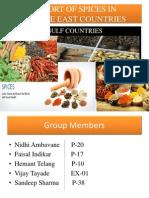 exportofspicesinmiddleeastcontriesinternationalmarketing-130908084157-