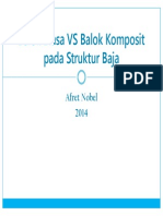 Balok Komposit vs Balok Biasa - Afret Nobel