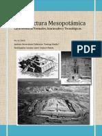 Arquitectura Mesopotámica. 02-11-2014