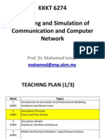 Modeling and Simulation of C&C Network