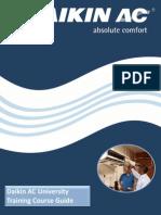 Daikin AC University Training Course Guide