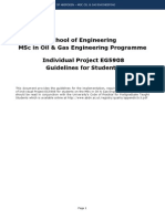 MSc OGE Dissertation Guidelines 2012