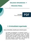 Criminalidad Organizada y Proceso Penal