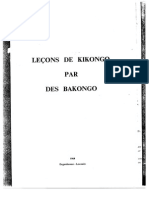 Lecons Kikongo Par Bakongo