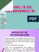 Modelos de Intervención Diapositivas