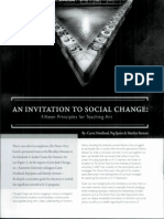 An Invitation to Social Change Fifteen Principles for Teaching Art