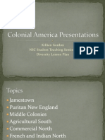 Colonial America Presentationspowerpoint