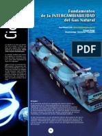 Intercambiailidad Del Gas Natural