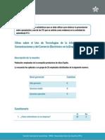 Hoja de Estadísticas Actividad de Aprendizaje 2